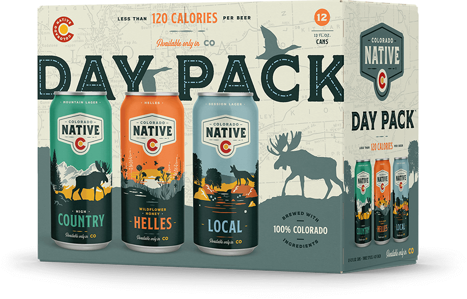 Colorado Native Day Pack 12pk can