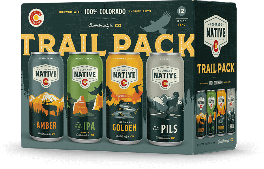Colorado Native Trail Pack 12pk can