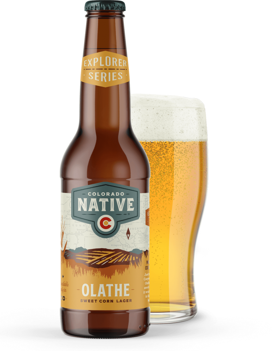 Olathe Sweet Corn Lager beer