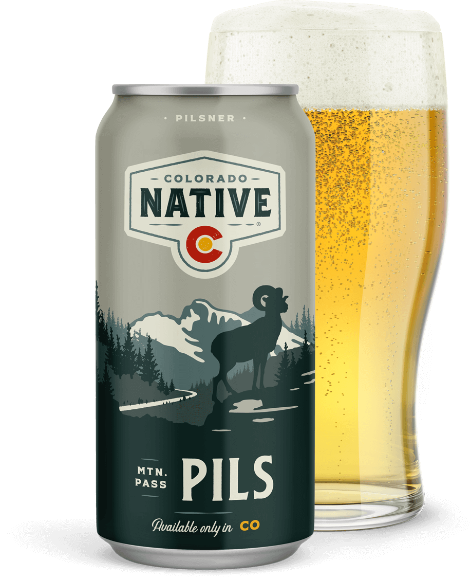 Mtn. Pass Pils beer