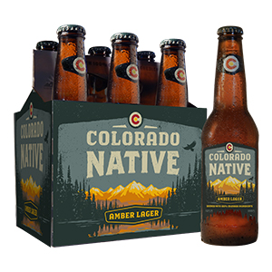Colorado Native - Amber Lager six pack