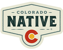Colorado Native Footer Logo