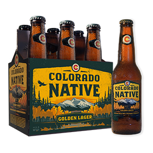 Colorado Native - Golden Lager six pack
