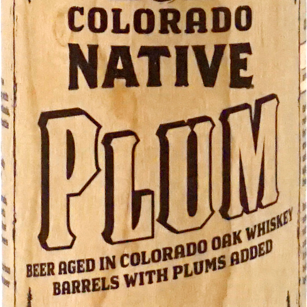 Colorado Native - Plum box