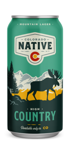 High Country Mountain Lager beer