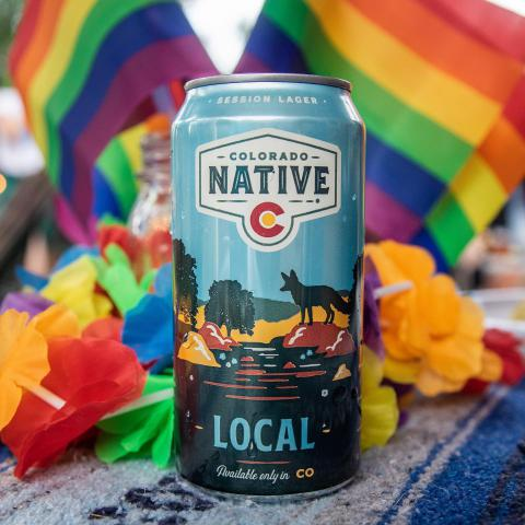 Although we missed celebrating with everyone this weekend at #denverpridefest that didn't stop us from grabbing a beer in honor of #pride🌈 Why stop the party at one weekend or one month when you can celebrate every day! 🍻 . . #coloradonative #coloradonativebeer #colorado #pride #pride2020 #pridemonth #100percentcoloradoingredients #onlyavailableincolorado