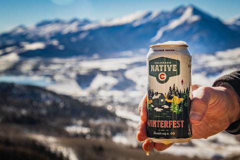 It's the most wonderful time of the year ❄️ 🍺  . . #coloradonative #winterfest #coloradonativebeers #onlyavailableincolorado #coloradobeer #local #100percentlocalingredients