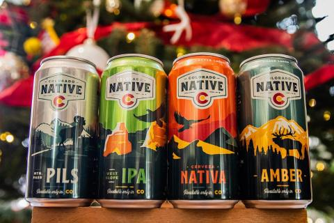 From all of us at Colorado Native, wishing you all Happy Holidays! . . #coloradonative #coloradonativebeers #onlyavailableincolorado #coloradobeer #local #100percentlocalingredients