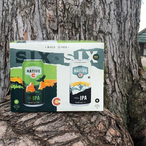 Introducing the newest addition to the Colorado Native family - the Six-by-Six Variety Pack! Featuring our West Slope IPA and Double IPA, this pack is one you won't want to miss 🍻   If you really want to explore Colorado, everyone knows you need a 4x4. And if you really want to explore Colorado beers? Shift it into a 6x6. This pack lets you crack open and explore two delicious home-grown beers side-by-side.   Find the Six-by-Six Pack at a location near you today!  . . . #coloradonative #cobeers #beerstagram #craft #colorado #onlycoloradoinmind