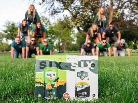 We're claiming today, June 6th, Colorado Six-by-Six Day. How are we celebrating? With a Six-by-Six beeramid, of course. 🍻 . . . #coloradonative #sixbysix #colorado #cobeer #beertime #beerstagram #beerfirst #100percentcoloradoingredients