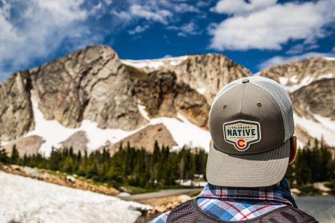 This hat could be yours too. Shop all Colorado Native merch now by clicking the link in our bio. 👀  . . . #coloradonative #cobeer #acgoldenbrewingco  #swag #beertime