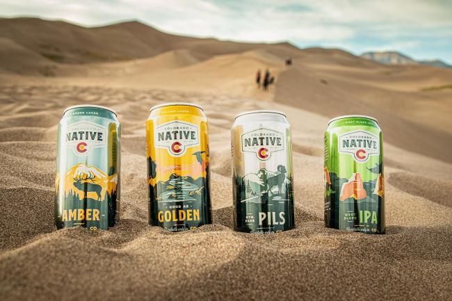 Sunshine and beach vibes ☀️😎 (Colorado style) . . . #ColoradoNative #coloradonativebeers #thegreatsanddunes #100percentcoloradoingredients #sanddunesnationalpark #explorecolorado