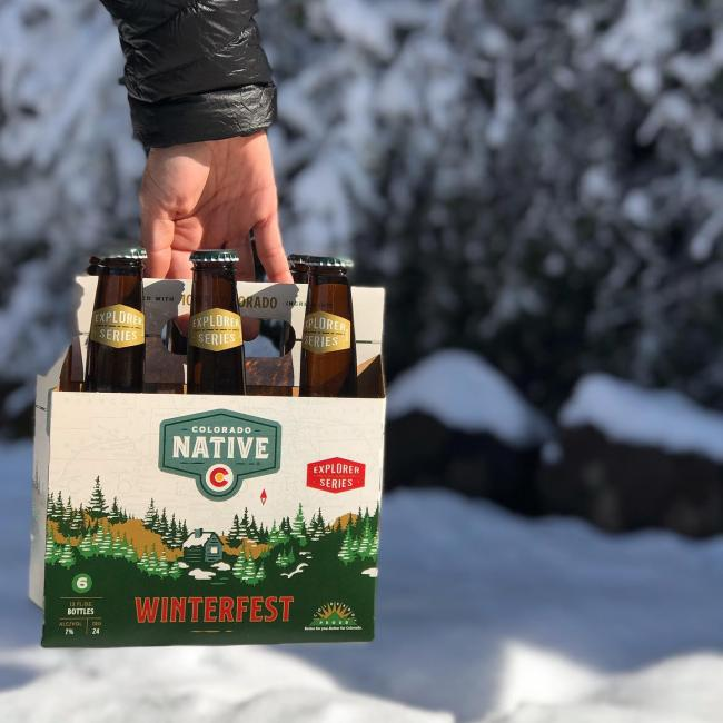 Winterfest is coming! Keep your eyes peeled as Winterfest is making its way from the brewery to your favorite liquor store within the next week. . . . #coloradonative #winterfest #localbeer #beer