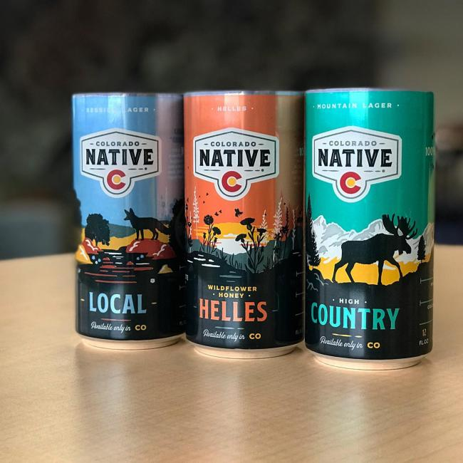 A sneak peak from our latest production run. We are excited to announce the line-up for our new Colorado Native Day Pack. The variety pack will contain 3 full-flavored beers that are all under 120 calories launching in mid-March. . . . #coloradonativedaypack #coloradonative #coloradonativebeers #local #localsessionlager #wildflowerhoneyhelles #highcountrymountainlager #100percentcoloradoingredients #onlysoldincolorado