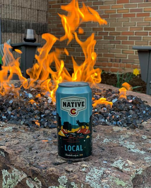 Taking advantage of all the backyard has to offer these days #stayingathome Join us from your home as we end the day with a beer by the fire. 🍻 . . . #coloradonative #coloradonativebeer #coloradonativelocal #local #colorfulcolorado #stayathome #firepit #coloradoevening #cheers